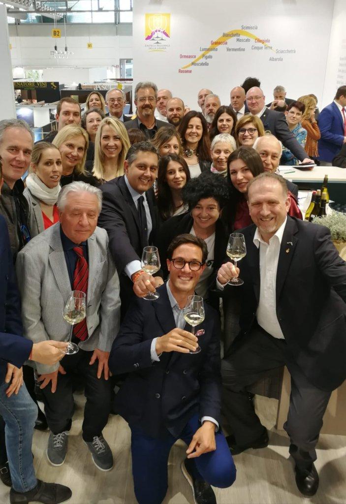 TOTI e viticoltori liguri vinitaly